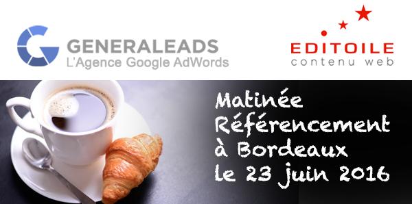 Matinée AdWords à Bordeaux