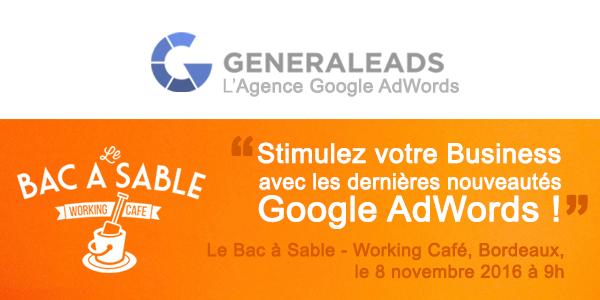 Conférence Adwords à Bordeaux