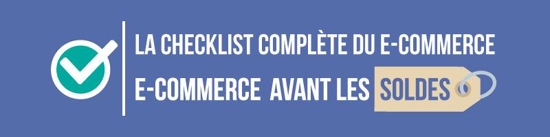 La checklist complète du e-commerce pour les soldes